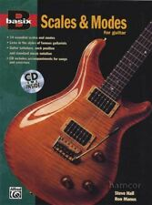 Basix Scales & Modes for Guitar TAB Music Book/CD