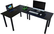 Gamer Tisch Gaming EckTisch Computertisch EckSchreibtisch Bürotisch180x120x60