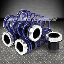 """FOR NISSAN 240SX S13/S14 BLUE 1-3""""ADJUSTABLE COILOVER SUSPENSION LOWERING SPRING"""