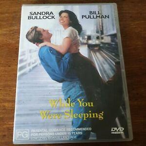 While You Were Sleeping DVD R4 Like New! FREE POST