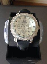 NEW Techno Master TM-2108 Watch Men's 1/2 CTS White Diamond