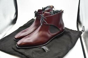 Mezlan  Affleck Burgundy Leather Spain Boots Shoes MEN'S SZ 14 M