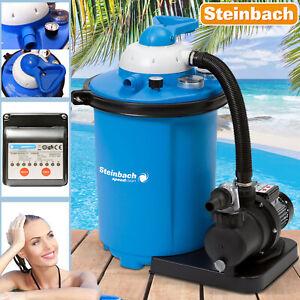 Speedclean 75 Sandfilter 8.000 l Sandfilteranlage Filter Pool Intex Filterkessel