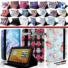 """Leather Stand Folio Cover Case For Various 8"""" 10"""" Prestigio Grace Tablet"""