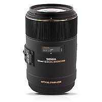 Sigma EX 105 mm F/2.8 DG HSM OS Objektiv Nikon Neu Restgarantie 22 Monate