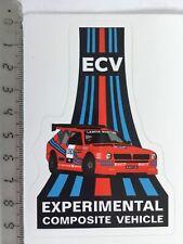 Sticker / Aufkleber, Lancia Delta ECV Martini,