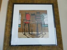Matt Lively Serigraph - Swoon - Eclectic Chairs - Framed/COA -