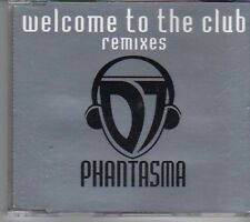 (CX645) DJ Phantasma, Welcome To The Clubs Remixes - 1997 CD