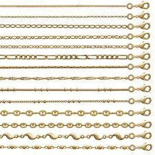 Anklet Ankle Jewelry IN Gold Plated Mesh of Your Choice