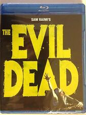 The Evil Dead (Blu-ray Disc, 2010) Bruce Campbell (NEW/SEALED)