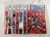SHADOWMAN Comic Books #13, #14, #16-#20 1993 VALIANT Comics