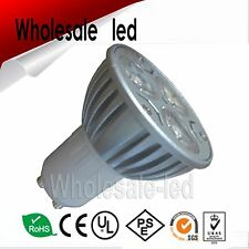 GU10 9W Watt 3x3W White/Warm/Red/Blue/Green/Amber/UV LED 85-265v AC Bulb Epistar