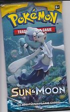 Pokemon Sun Moon SM Base Set Booster Pack Umbreon Espeon Lunala Solgaleo GX@