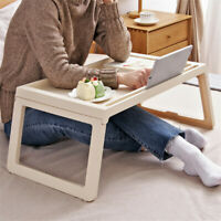 Laptop Fold Table Stand TV Tray Upgrade Portable Adjustable Desk Sofa Bed Table