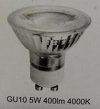 6x GU10 COB LED 5W 400lm 4000k neutralweiß Leuchtmittel für Spot - Einbauleuchte