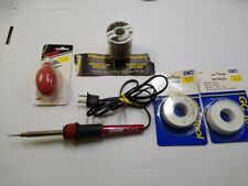 Misc. Soldering Equipment And Supplies ( New And Used )