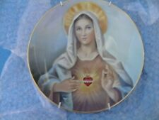 Madonna Of The Sacred Heart Franklin Mint Collectible Plate