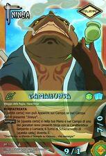NARUTO CARD GAME Gamabunta NI-220 FOIL NEW MINT RARE