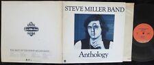 STEVE MILLER BAND, Anthology [with booklet] USA 1st pressing EXCELLENT- 2LP