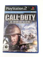 PlayStation 2 PS2 - Call Of Duty Jour De Gloire - PAL FR - Complet