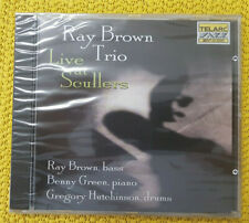 Live at Scullers, Ray Brown Trio (b: Brown, p: Green, d: Hutchinson) #520 CD:neu