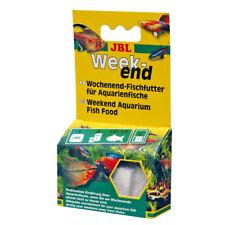 3 Pezzi JBL Weekend, 3 x 20 G, soggiorni-da solo cibo per tutti i pesci d'acquario