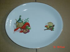 Alfred Meakin Glo White Ironstone Oval Platter Steak Fish Plate #5