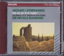 MOZART CD NEW SYMPHONIES 32 /39/41 NEVILLE MARRINER/ ST MARTIN IN THE FIELDS