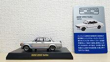 1/64 Kyosho BMW 2002 TURBO SILVER diecast car model