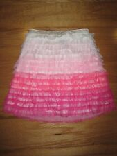 BabyGap GAP Tulle pink ombre ruffle I want candy Girls skirt size 4 years  new