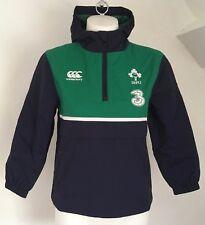 Irlanda Rugby Peacoat Blue Giacca SHOWERPROOF DA CANTERBURY TAGLIA Ragazzi 10 anni