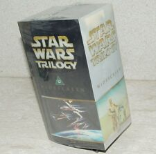 Star Wars Trilogy VHS, 2000 Widescreen THX Digitally Mastered ~ NEW ~ SEALED