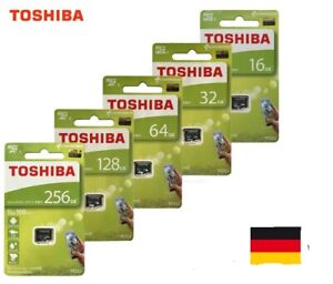 Toshiba micro SD M203  16 - 128GB  bis zu 100mb/s in OVP