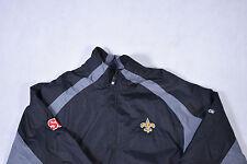 Large Vintage Reebok New Orlean Saints 90's Festival Jacket