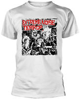 EXTREME NOISE TERROR A Holocaust In Your Head WHITE T-SHIRT OFFICIAL MERCHANDISE