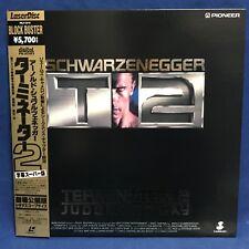 Terminator 2 Japan LD Laserdisc WIDESCREEN Surround PILF 1375 Schwarzenegger