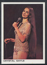 Panini 1980 Rock & Pop Collection - Sticker No 12 - Crystal Gayle (S275)