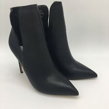 Steve Madden Leather Heel Boots Zanta Style ZantO1S1 Size 8.5