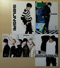 BIGBANG Official Collection Star Cards [Set of 4] *KPop collectables*