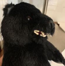 Winning Edge Caddie Bear Golf Driver Head Cover Plush Puppet