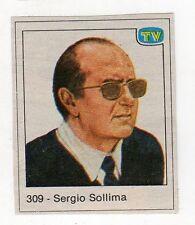 figurina - TV SORRISI E CANZONI - numero 309 SERGIO SOLLIMA
