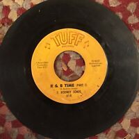 E Rodney Jones R&B Time Part I & II TUFF northern soul