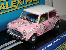SCALEXTRIC MORRIS MINI COOPER  C3224 TWIGGY LIMITED EDITION NEW