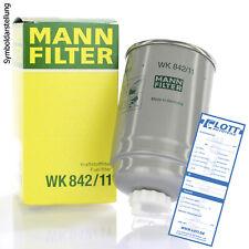 Mann-Filter Filtro de combustible spritfilter enviarlos WK 842/18