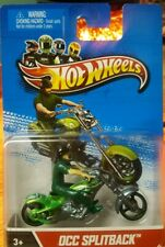 Hot Wheels Motorcycles OCC Splitback Die-Cast 1:64 Scale w/ Removable Rider 2012