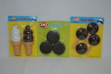 NEW DQ Dairy Queen Ice Cream Play Food Pretend Dilly Bars, Sandwiches, Cones