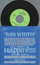 """7"""" TOM WINTER HAPPINESS IN THE WORLD"""