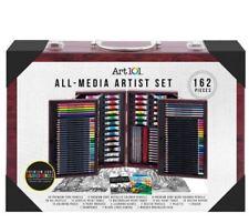 Art 101 All-media Artist Set 162 Pieces Premium Core Colored Pencils Gift