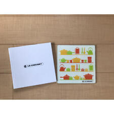 New Le Creuset Glass Kitchen Plate From Japan w/tracking