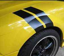 Carbon Fiber Fender Stripes Hash Mark Vinyl Decals Sticker Rally Sport Racing